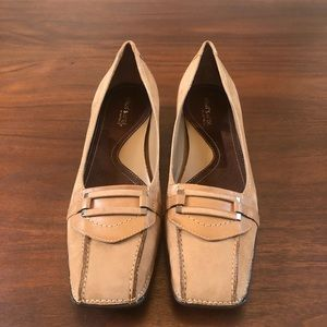 What's What by Aerosoles Tan Suede Loafers